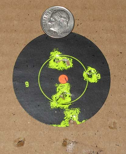 Umarex Morph 3X rifle pistol target low power