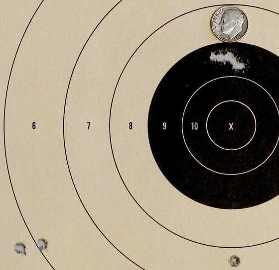 AR 15 target 1