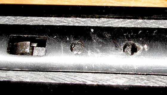 Cometa Fusion Premier Star breakbarrel air rifle rear scope stop holes