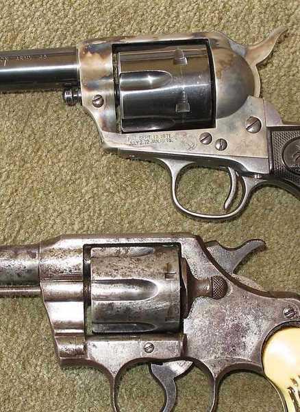 Nelson Lewis combination gun Otho welded gun