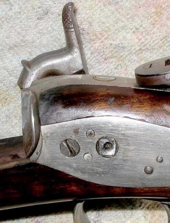 Nelson Lewis combination gun hammer sheared off