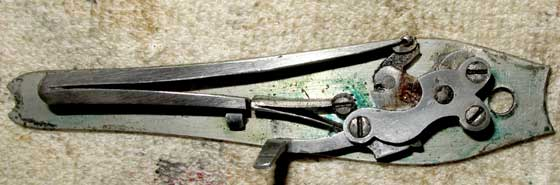 Nelson Lewis combination gun lock interior