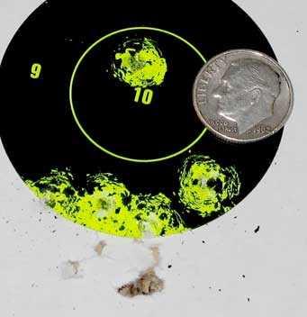 Umarex-P-08-BB-pistol-target1
