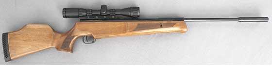 Theoben Crusader air rifle right