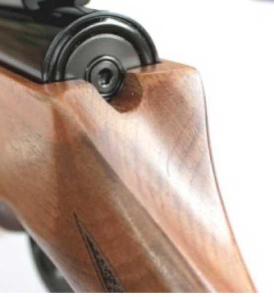 Theoben Crusader air rifle Schrader