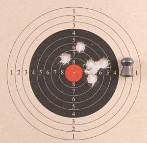 Theoben Crusader air rifle Baracuda Hunter group