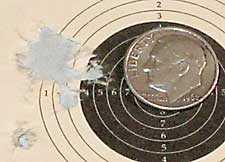 Walther LGV Challenger breakbarrel air rifle Beeman Kodiak group 25 yards