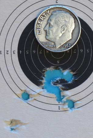 AirForce Talon SS rifle Premiers 25 yards 10 power