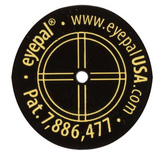EyePal Master Kit for Rifles and Pistols pistol patch
