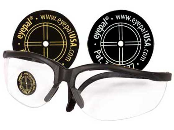 Shooting eye patch.