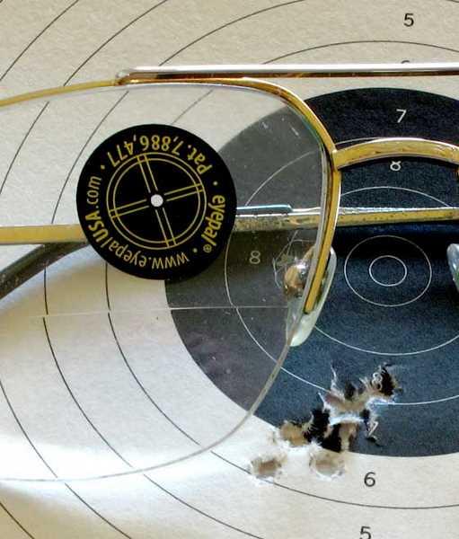 EyePal Peep Sight Master Kit pistol patch
