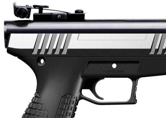 Benjamin Trail NP pistol rear sight