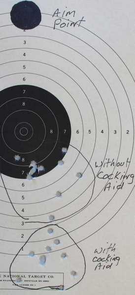 Benjamin Trail NP pistol JSB Exact RS groups