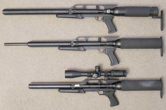 AirForce Condor SS precharged air rifle plus Condor and Talon SS
