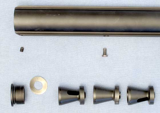 AirForce Condor SS precharged air rifle baffles