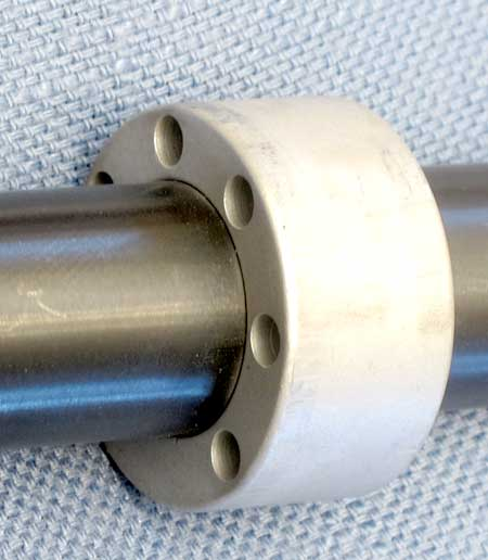 AirForce Condor SS precharged air rifle front barrel bushing detail