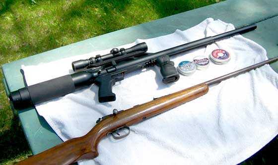 Remington 514 rifle with Condor