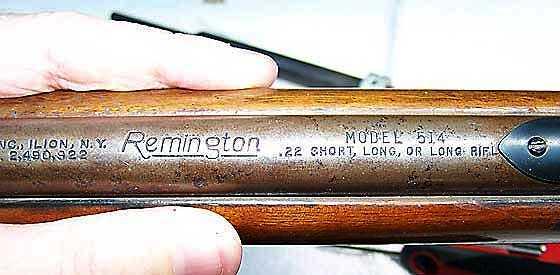 Remington 514 rifle