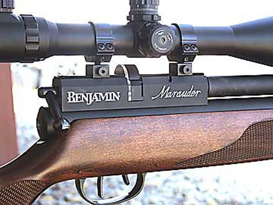 Benjamin Marauder old style magazine