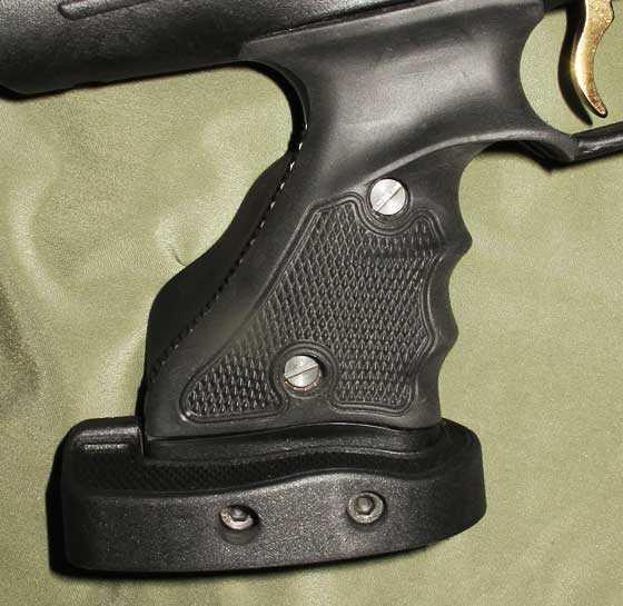 Hatsan AT P1 PCP air pistol adjustable palm shelf