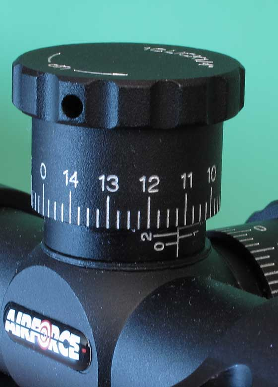 AirForce 4-16X50 scope better scope adjustment