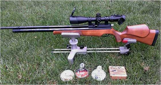 Dave's new Air Arms S410E