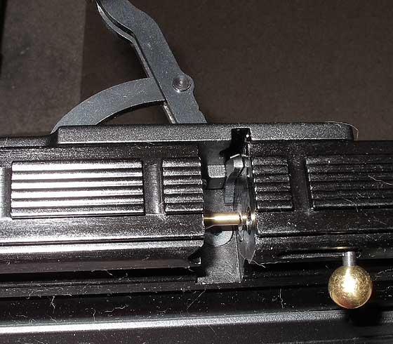 Hatsan AT P1 PCP air pistol bolt probe