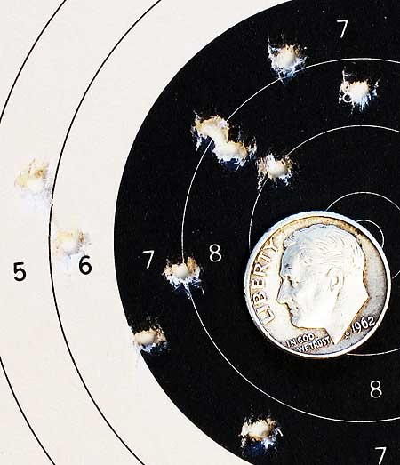 Gamo Whisper Fusion IGT air rifle H&N Baracuda Match group 2 25 yards