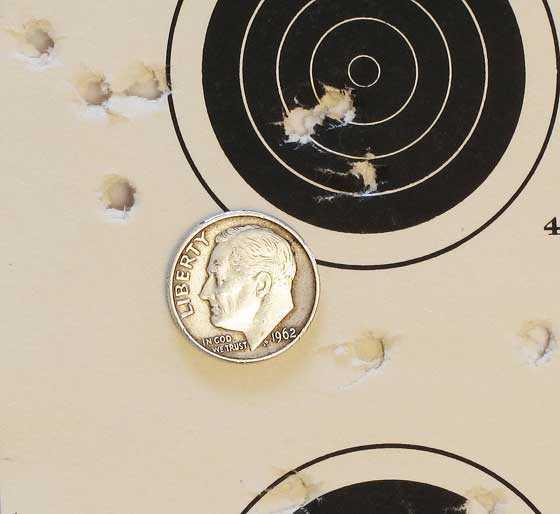 Talon SS rifle Premiers 50 yards power 6