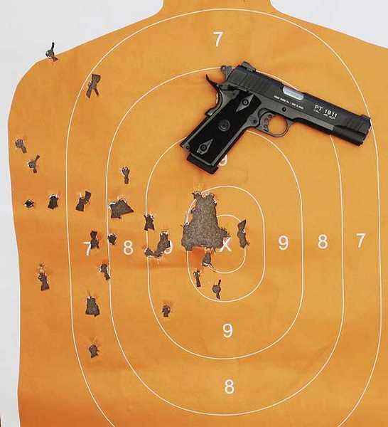 Taurus PT1911A1 target