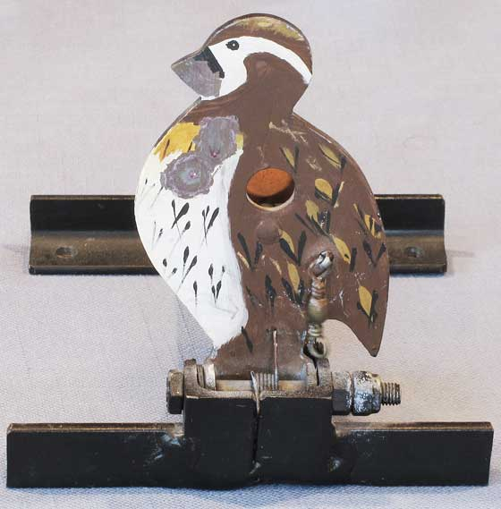 Field target frontal view