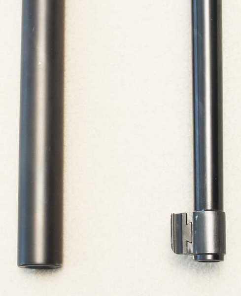 10-22 bull barrel with standard barrel