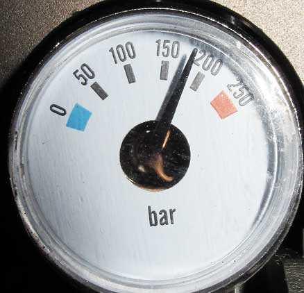 Evanix Rainstorm 3D bullpup pressure gauge
