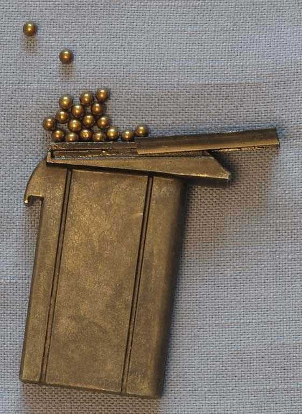 Crosman M1 Carbine magazine opened