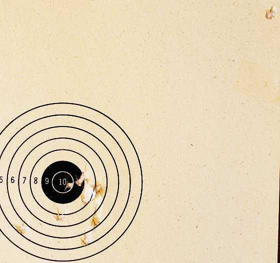 Crosman M1 Carbine Daisdy BB target