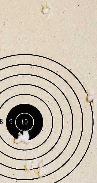 Crosman M1 Carbine Umarex BB target
