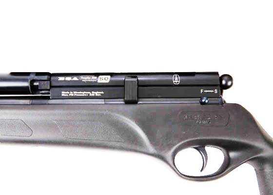 BSA Scorpion 1200 SE PCP air rifle receiver