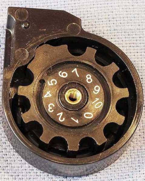Benjamin Marauder magazine pellet holder in place