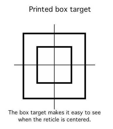 printed box target1