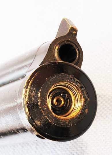 Crosman 116 pistol fill port