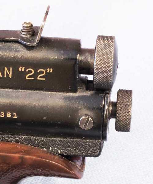 Crosman 116 pistol power adjustment