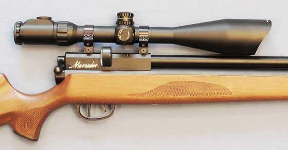 Leapers UTG 6-24X56 scope on Marauder