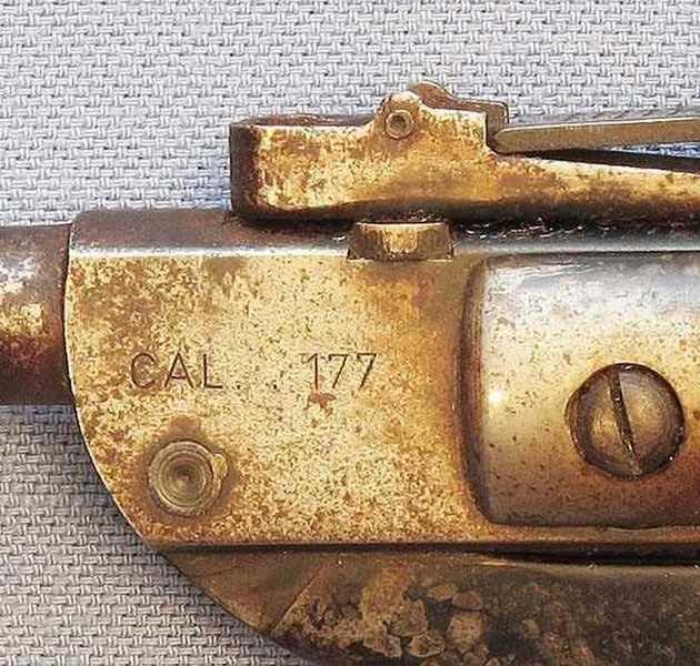 Diana 23 caliber marking