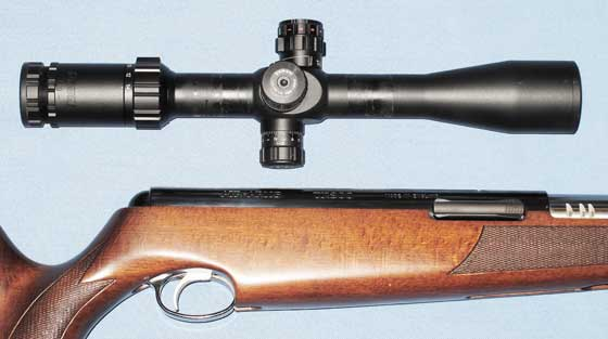 TX 200 Mark III fitting the scope