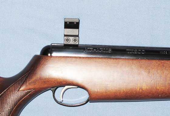 TX 200 Mark III scope ring mounted