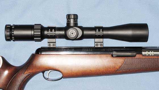 TX 200 Mark III scope caps secured