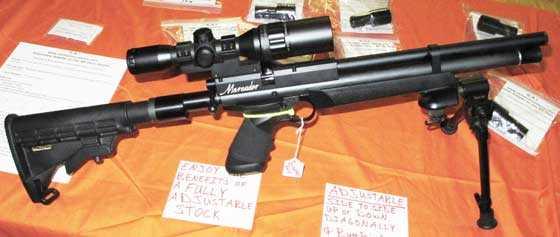 Crosman pistol stock adapter