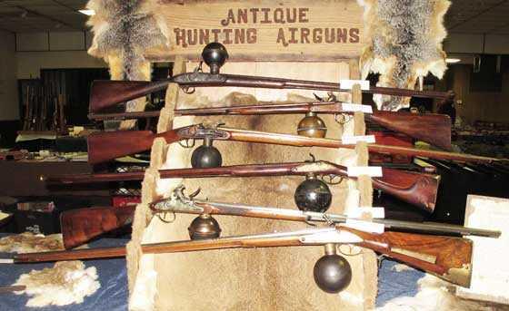 Hannusch ball reservoir airguns