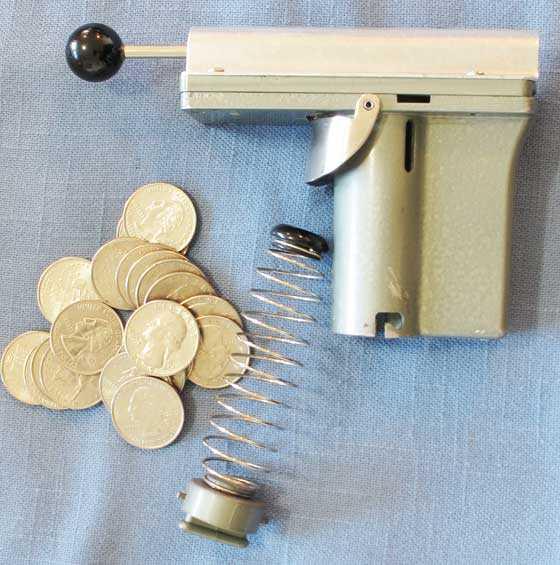 Toll Booth gun apart