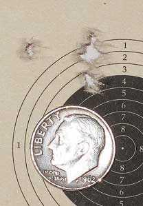 TX 200 Mark III 25-yard target first group